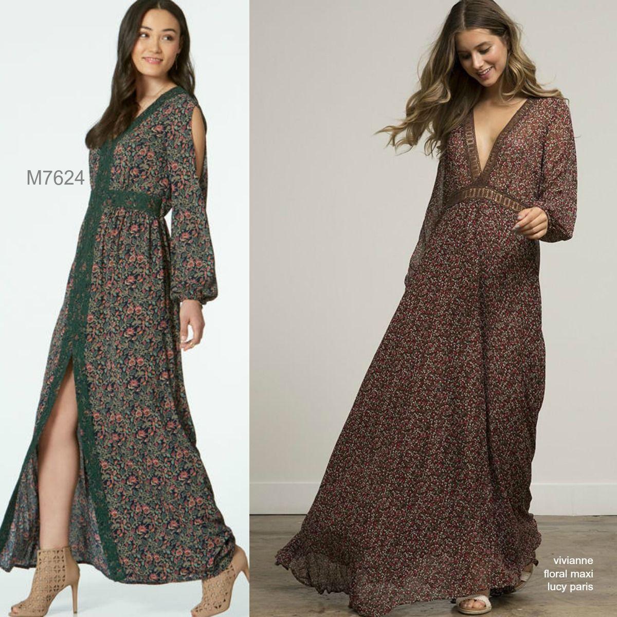 Sew the Look: McCall\'s M7624 maxi dress | \