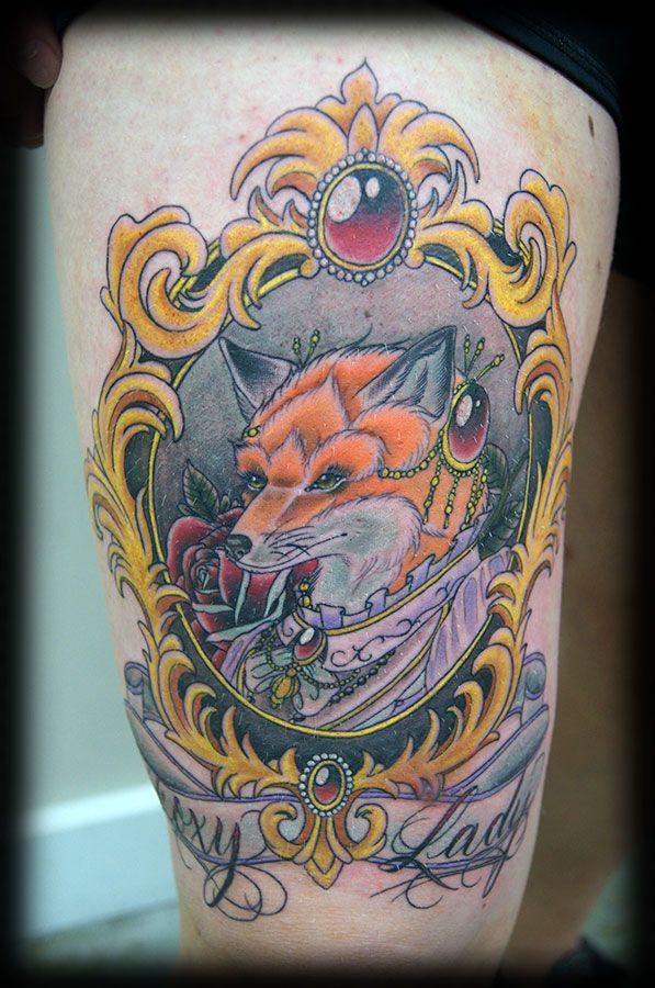 Brock Otautahi Tattoo Framed Tattoo White Wolf Tattoo Werewolf Tattoo