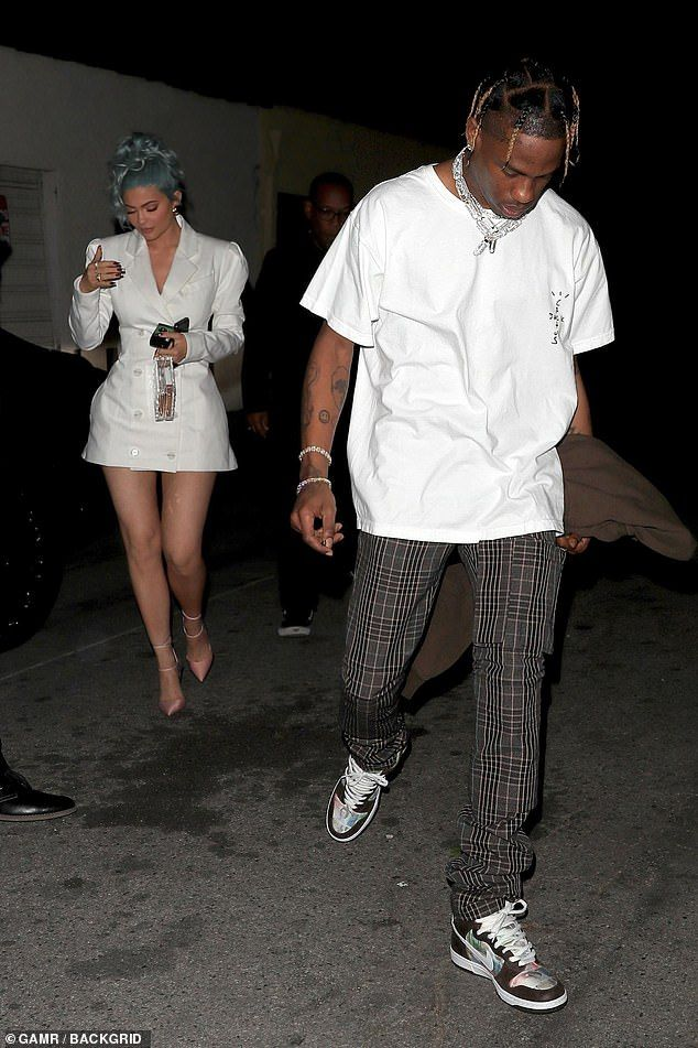 Kylie Jenner and Travis Scott step out for New Year's Eve