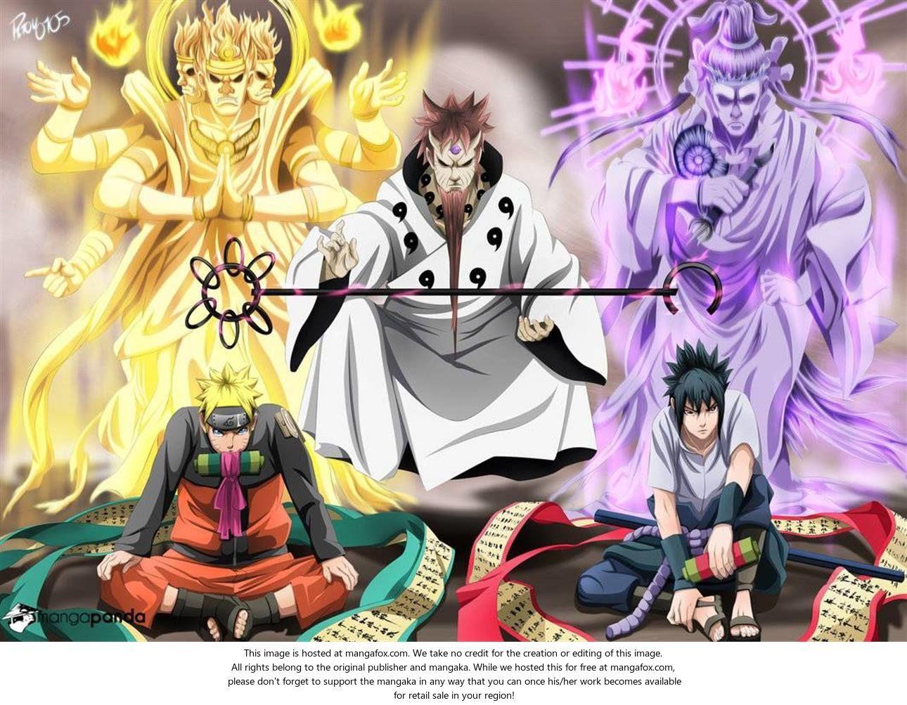 Naruto 674: Sasuke's Rinnegan...!! at MangaFox.me | Naruto ...