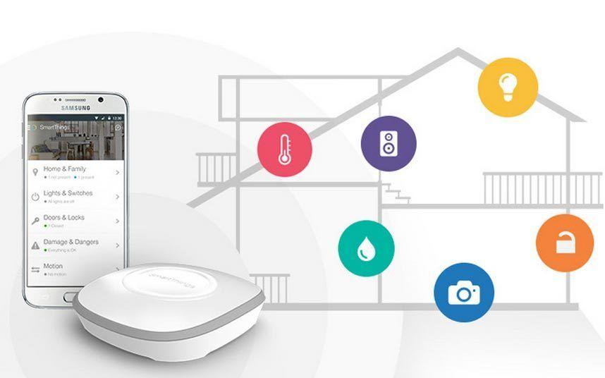 Control your home from an app for £200 Samsung brings