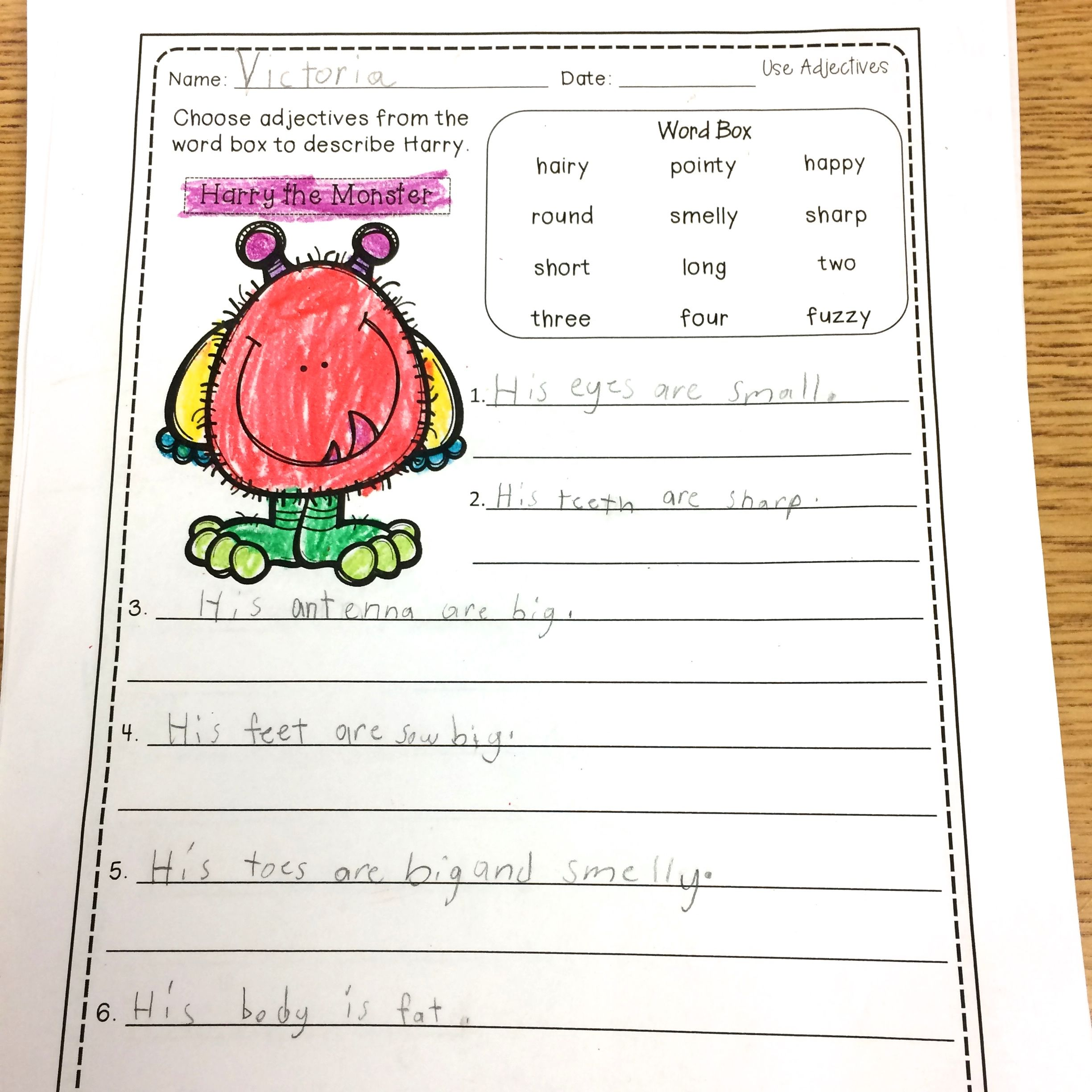 Adjective Resources For 1st Graders In 2020 Adjectives Adjectives Activities Writing Blog Posts