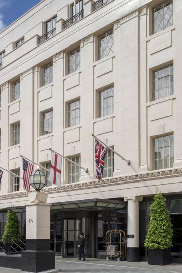 A luxury, five-star Mayfair hotel
