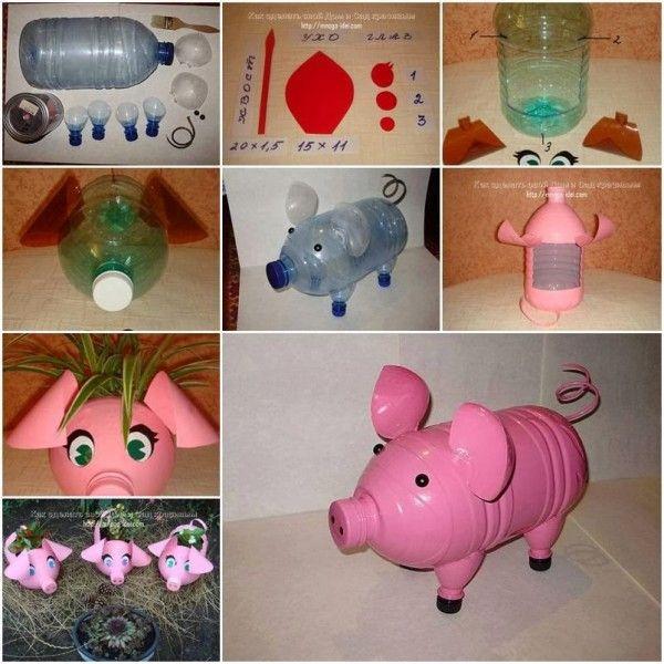 Creativas Maneras De Reutilizar Una Botella Plastico