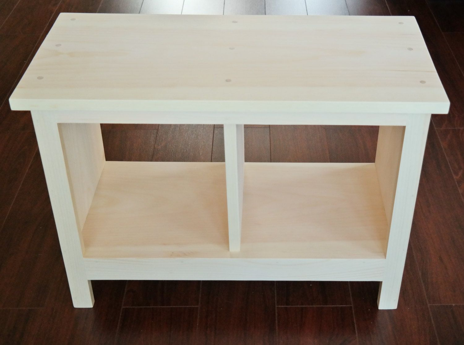24 Inch Unfinished Entryway Bench Custom Furniture Shoe