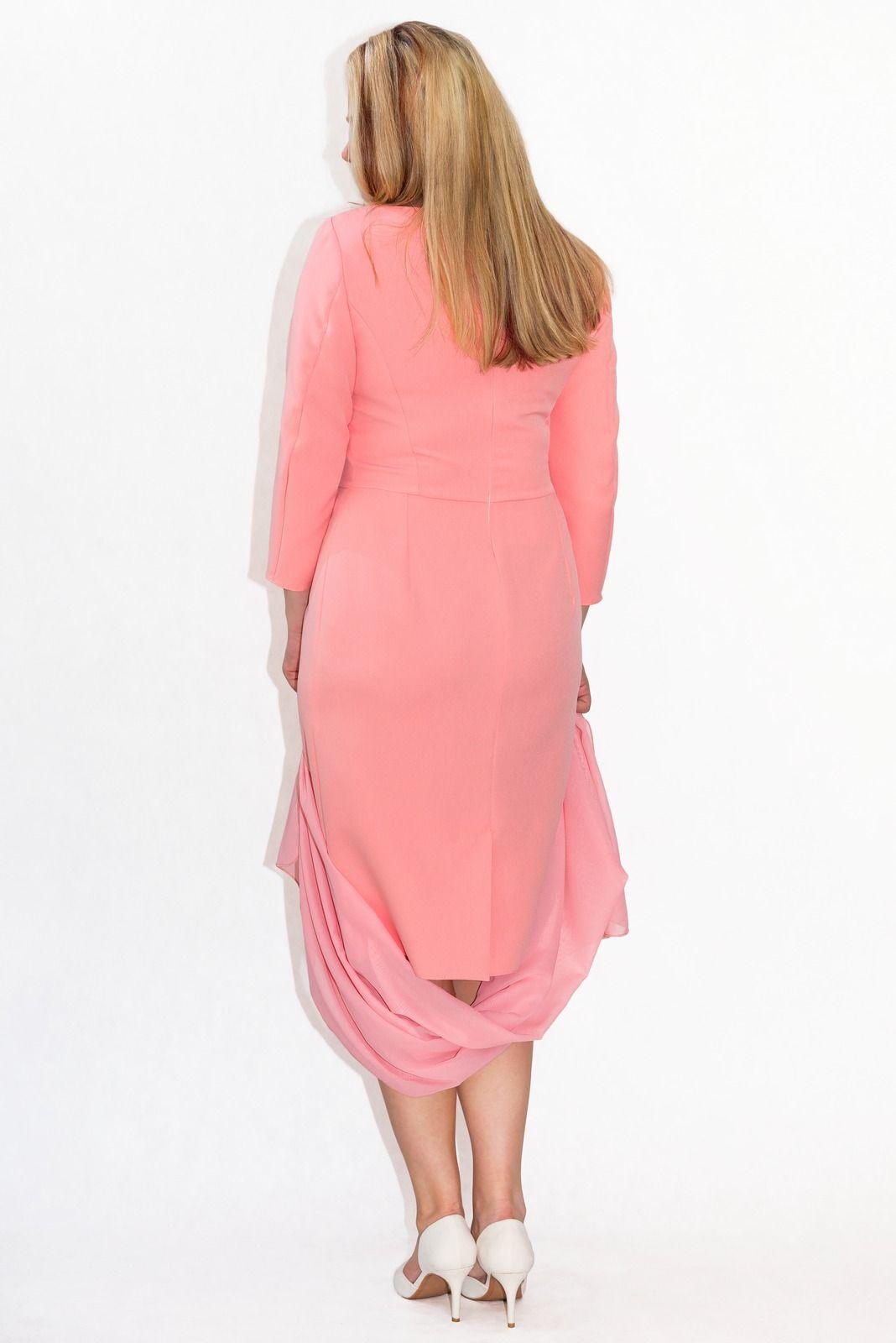 823b3fdbf6 Elegancka sukienka XXL AVA 40-60 duże rozmiary PLUS SIZE KOLORY ...