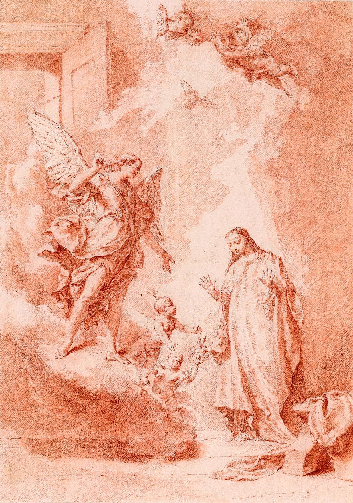 Giovanni Battista Piazzetta | 1682-1754 | Immaculate Conception | The Morgan Library & Museum