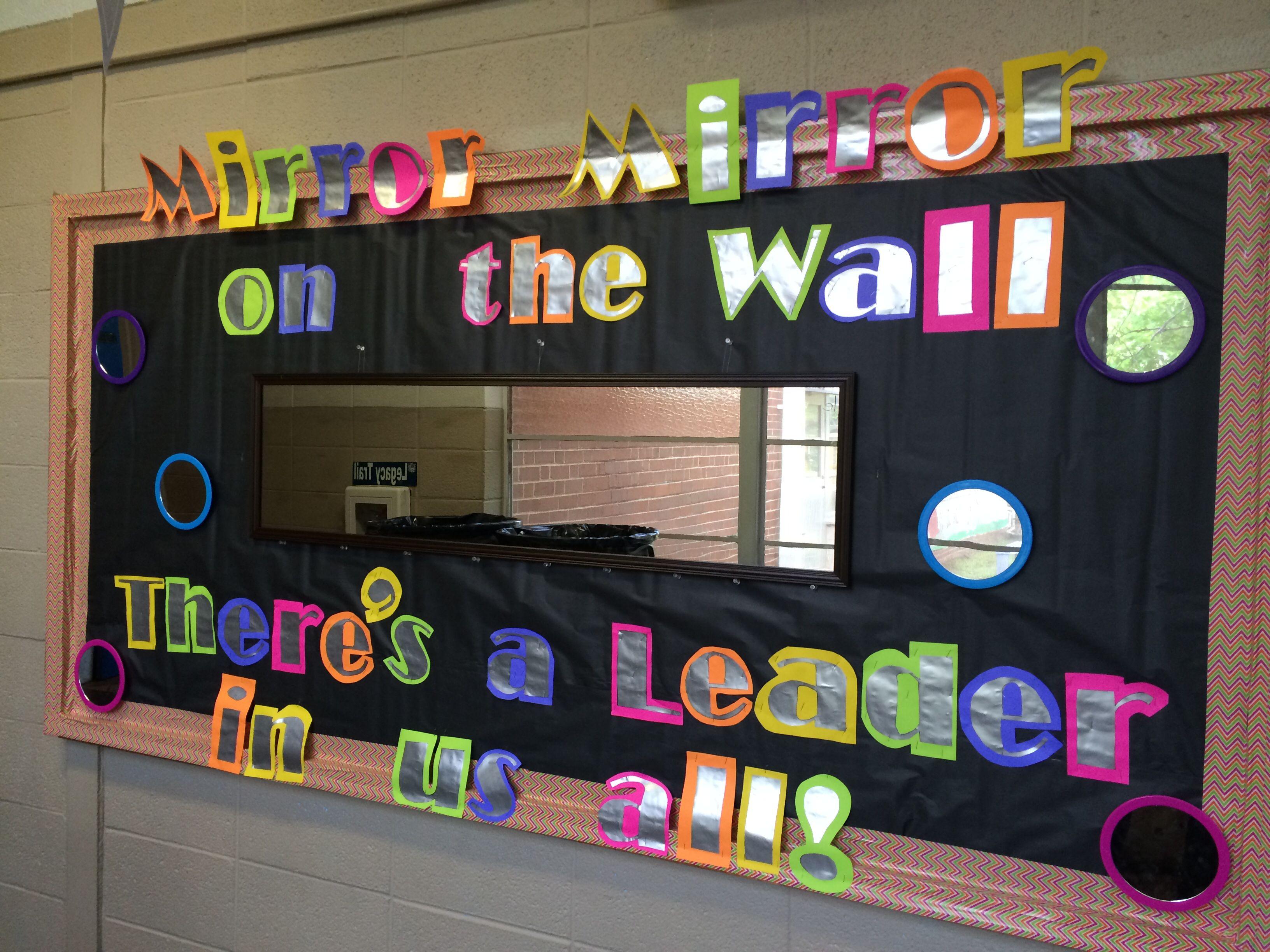 Leader in Me Bulletin Boards Elementary Schools in Mirror