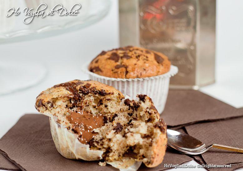 Photo of Muffin con gocce di cioccolato dal cuore morbido, ricetta | Ho Vo