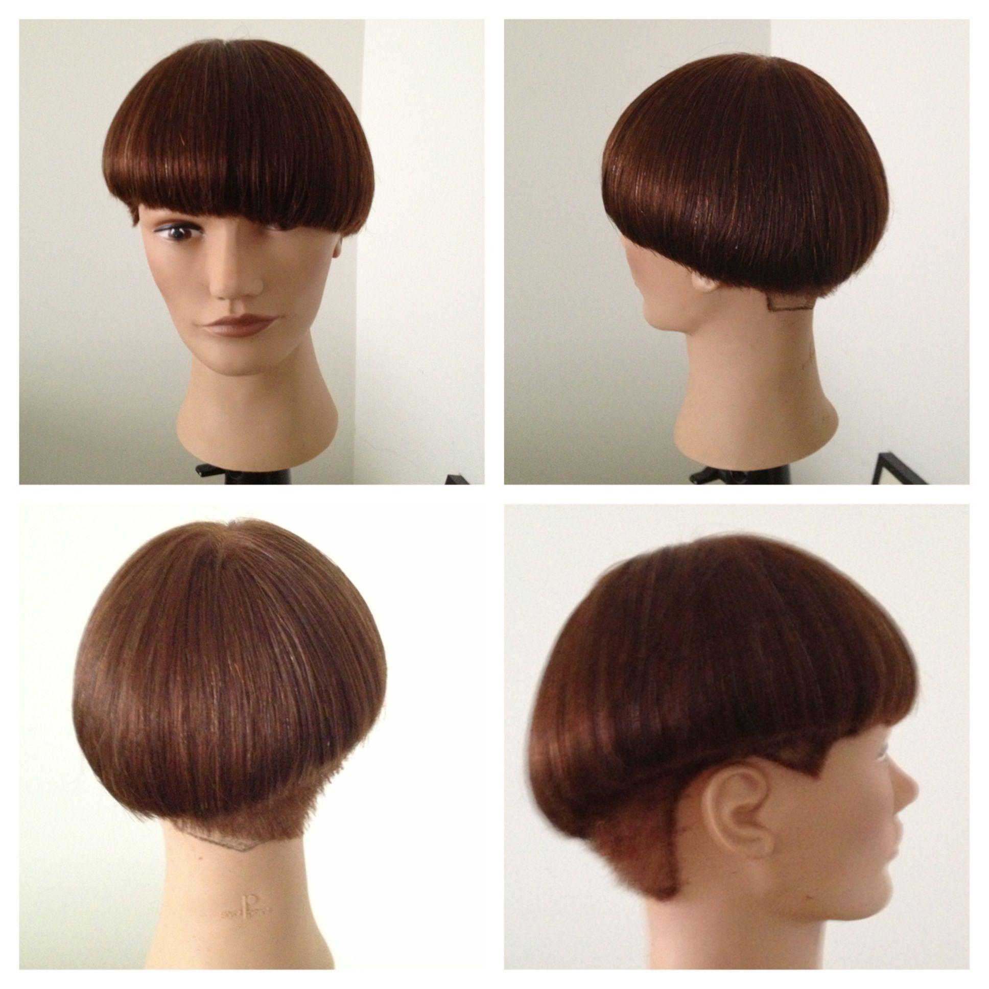 haircut based on the sassoon beret cut #sassoon #wtfthechop