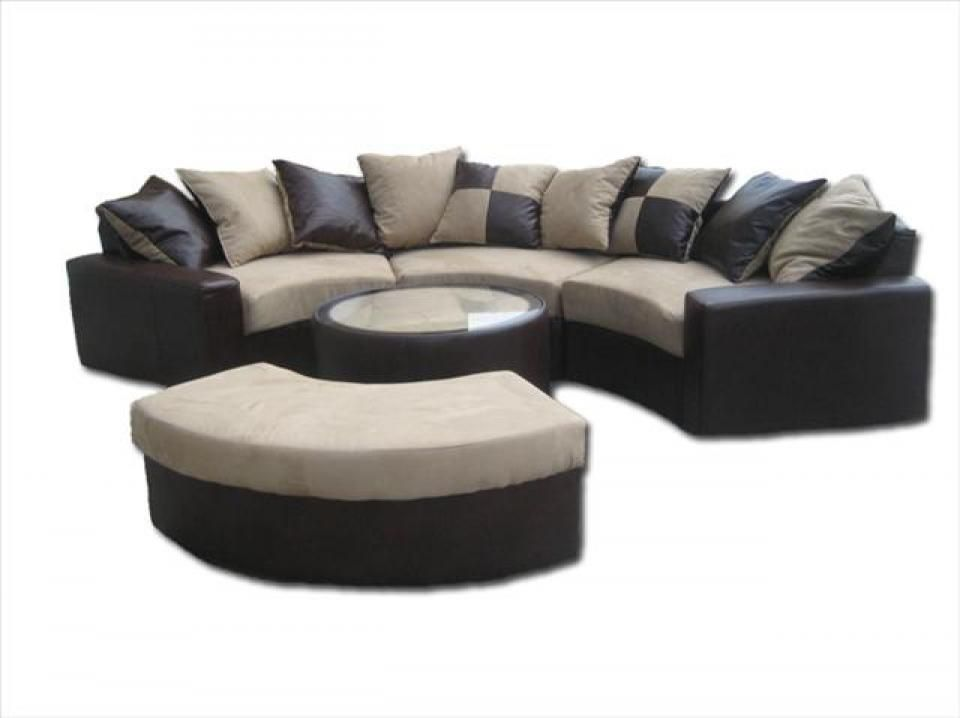 Etonnant Canape Arrondi Sectional Couch Couch Home Decor