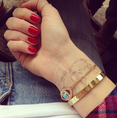 22 instagram accounts fashionistas should follow in 2014 tattoo 22 instagram accounts fashionistas should follow in 2014 cartier love braceletworld map tattoosglobe gumiabroncs Gallery