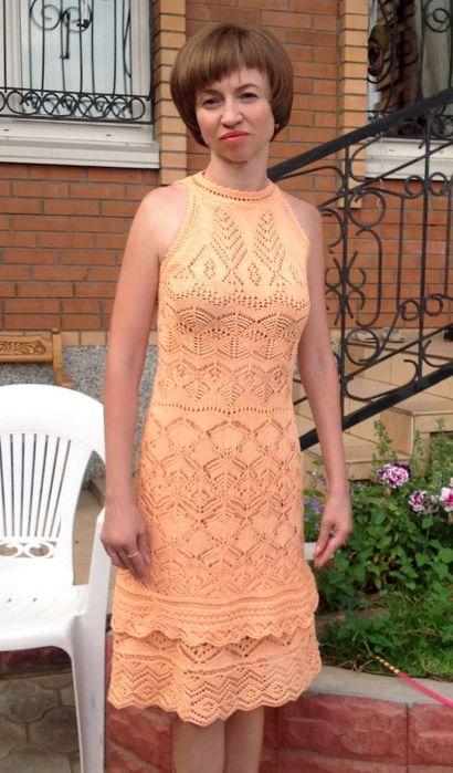 Vestido de punto traductor