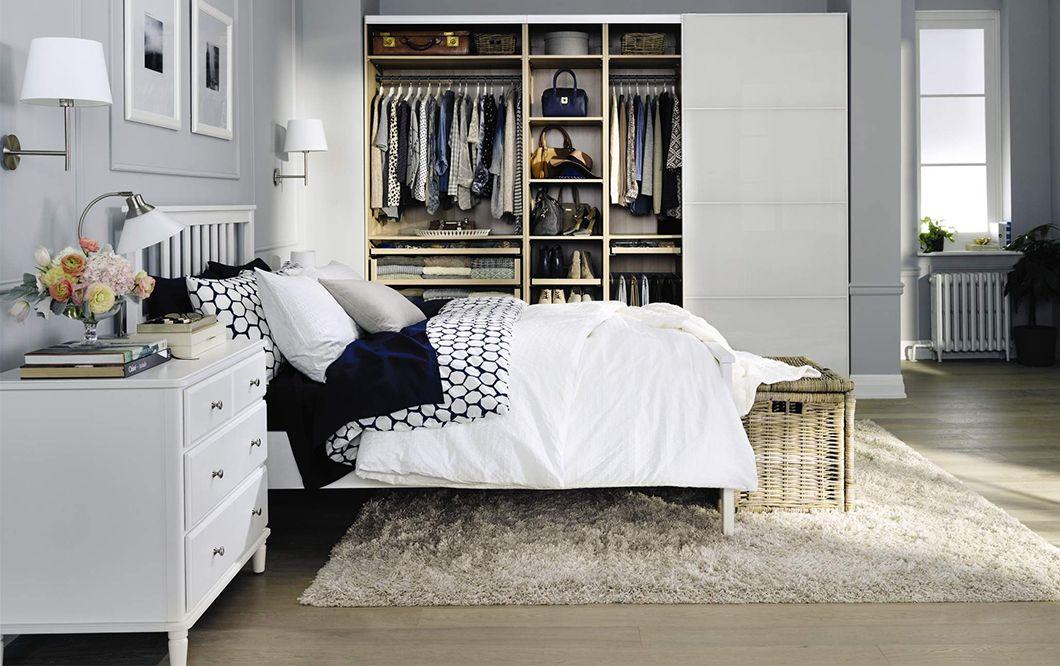 Superb PAX Wardrobe, Closet Placement In A Bedroom. | Reno Max | Pinterest | Pax  Wardrobe, Ikea Decor And Bedrooms