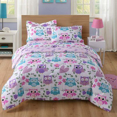 Harriet Bee Printed Mermaid Comforter Set