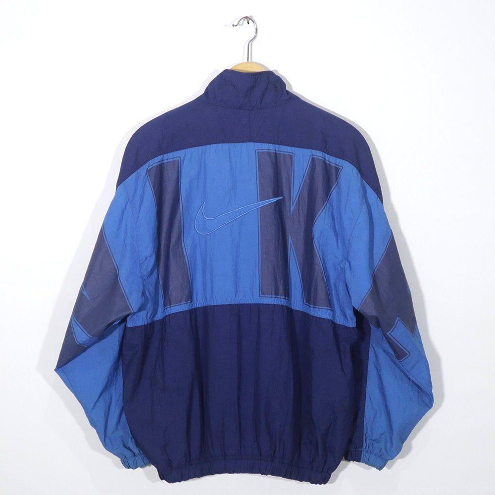 Vintage 90er Jahre ADIDAS Windbreaker Shell Spray Hoodie