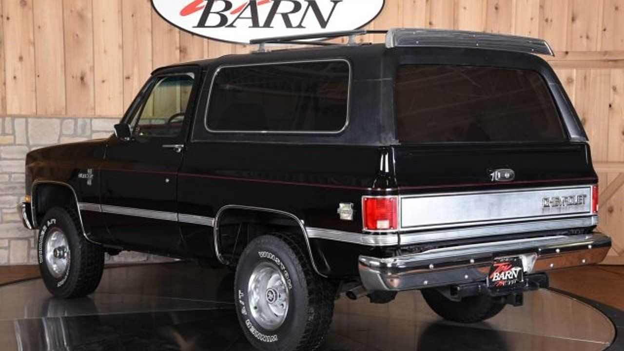 1986 Chevrolet Blazer 4wd For Sale Near Dublin Ohio 43017