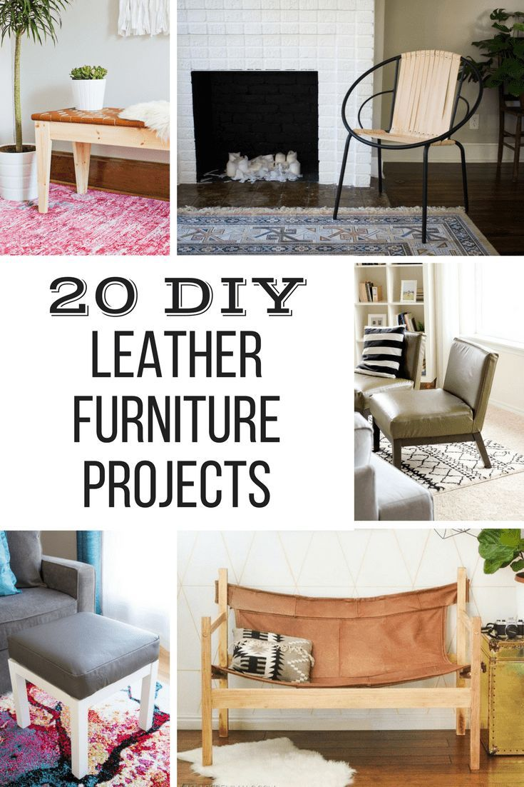 diy leather furniture projects pinterest leather projects