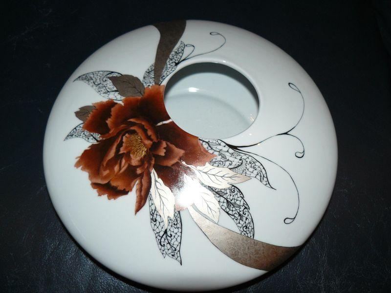 pivoines porcelain porcelain vase ceramic painting et china painting. Black Bedroom Furniture Sets. Home Design Ideas