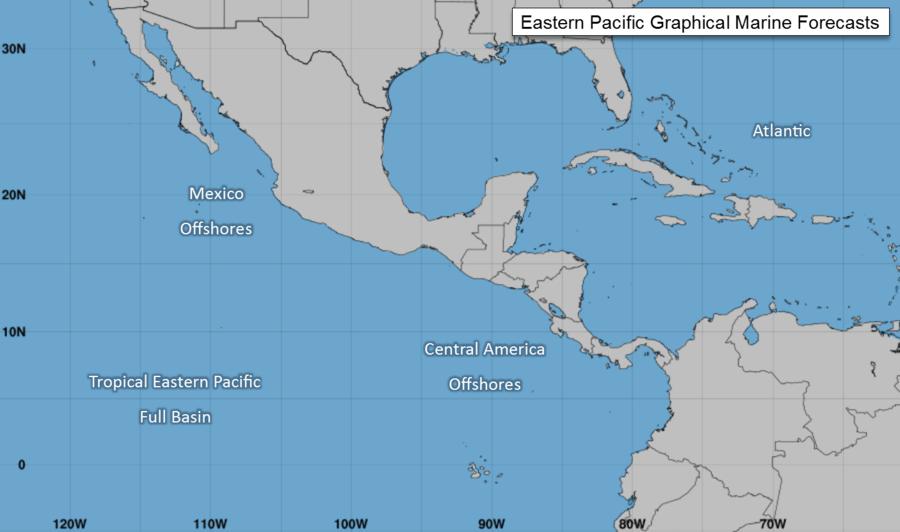 Eastern Pacific Marine Forecasts National Hurricane Center Ocean Marine