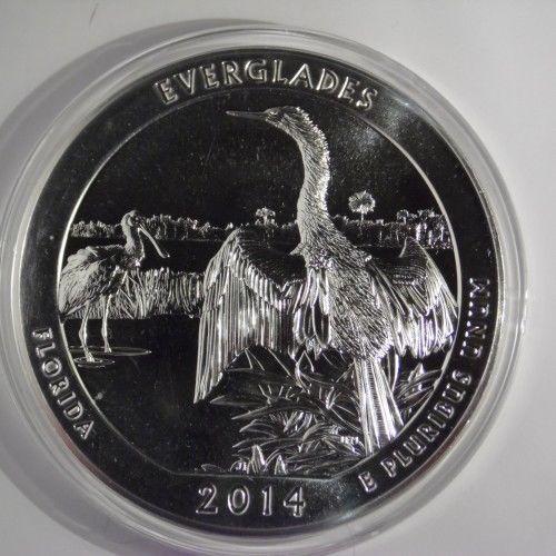2014 5 oz Silver ATB Everglades, Florida
