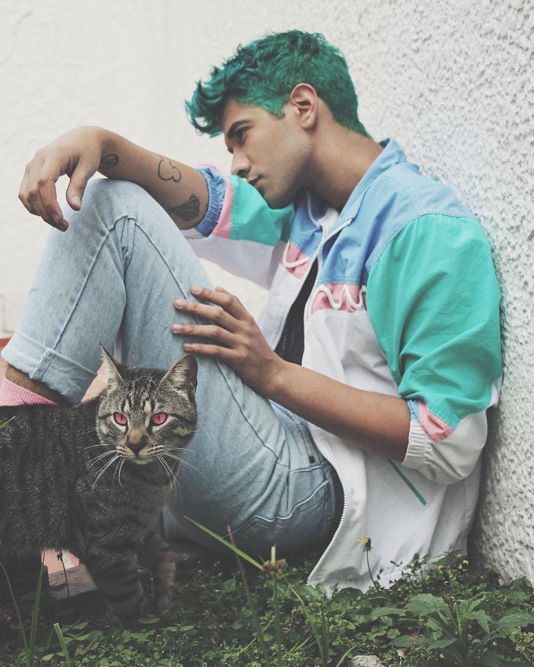Boy hair color images saturday ph rcrdocifuentes cat guyswithstyle guyswithtattoos