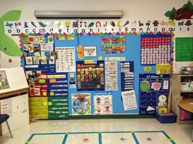 Whole Group Wall Mrs Cardenas Bilingual Prek Classroom Mrs
