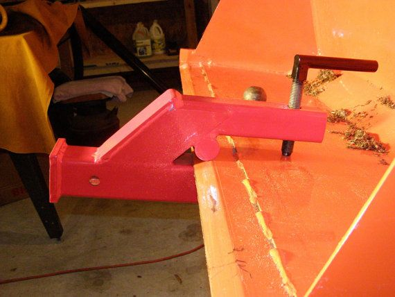 Clamp on trailer hitch for loaders, tractors or skid steers