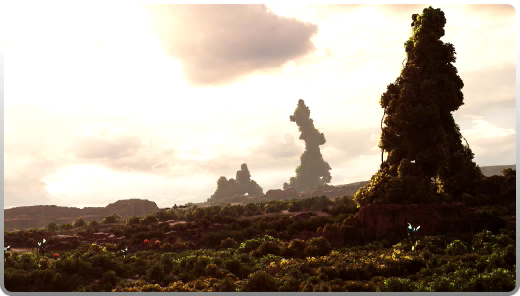 Gran Pulse Final Fantasy Fantasy Eiffel Tower