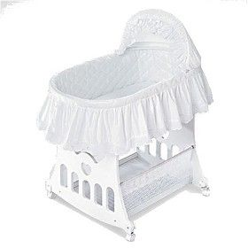 Badger Basket 2 In 1 Portable Bassinet With Toy ... : Target
