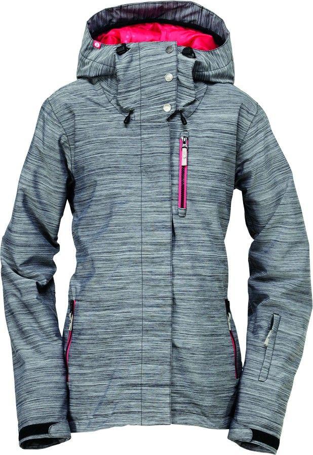 ce6697e4e77 Roxy Meridian Jacket Grey