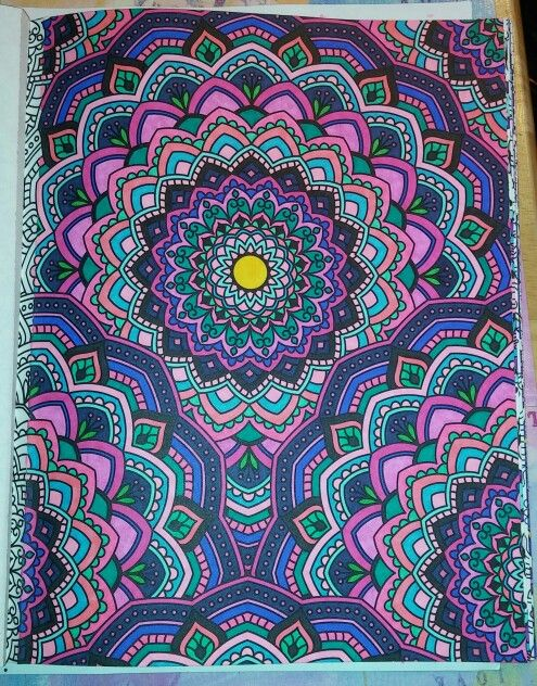 From Kaleidoscope Wonders Color Art For Everyone By Leisure Arts Mandala Coloring Mandala Coloring Pages Beatles Art