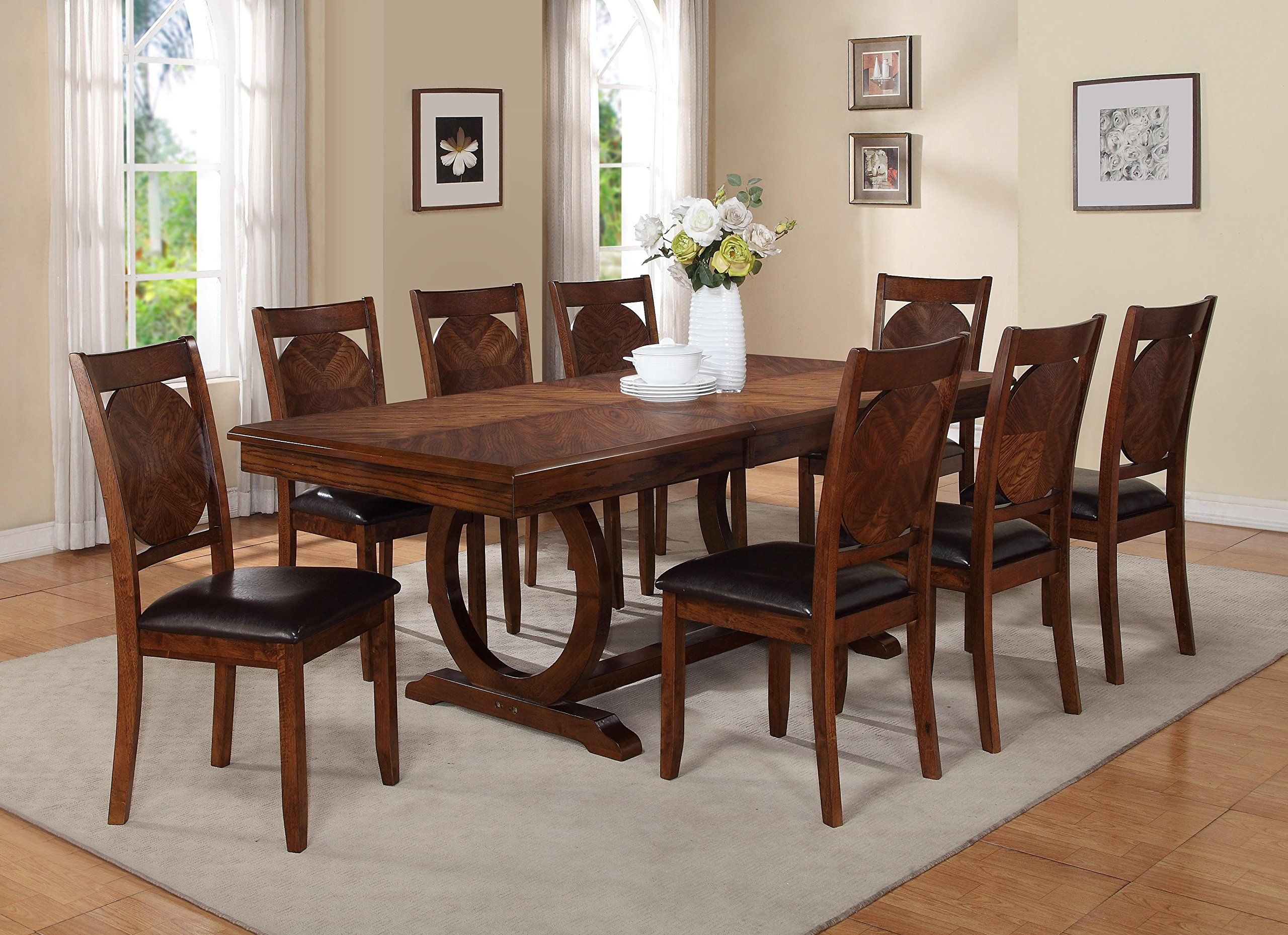Milton Greens Stars 8878db Vernon Dining Table 84 By 42 By 30inch Dark Brown You Can Find Round Dining Room Sets Dining Table In Kitchen Dining Room Table