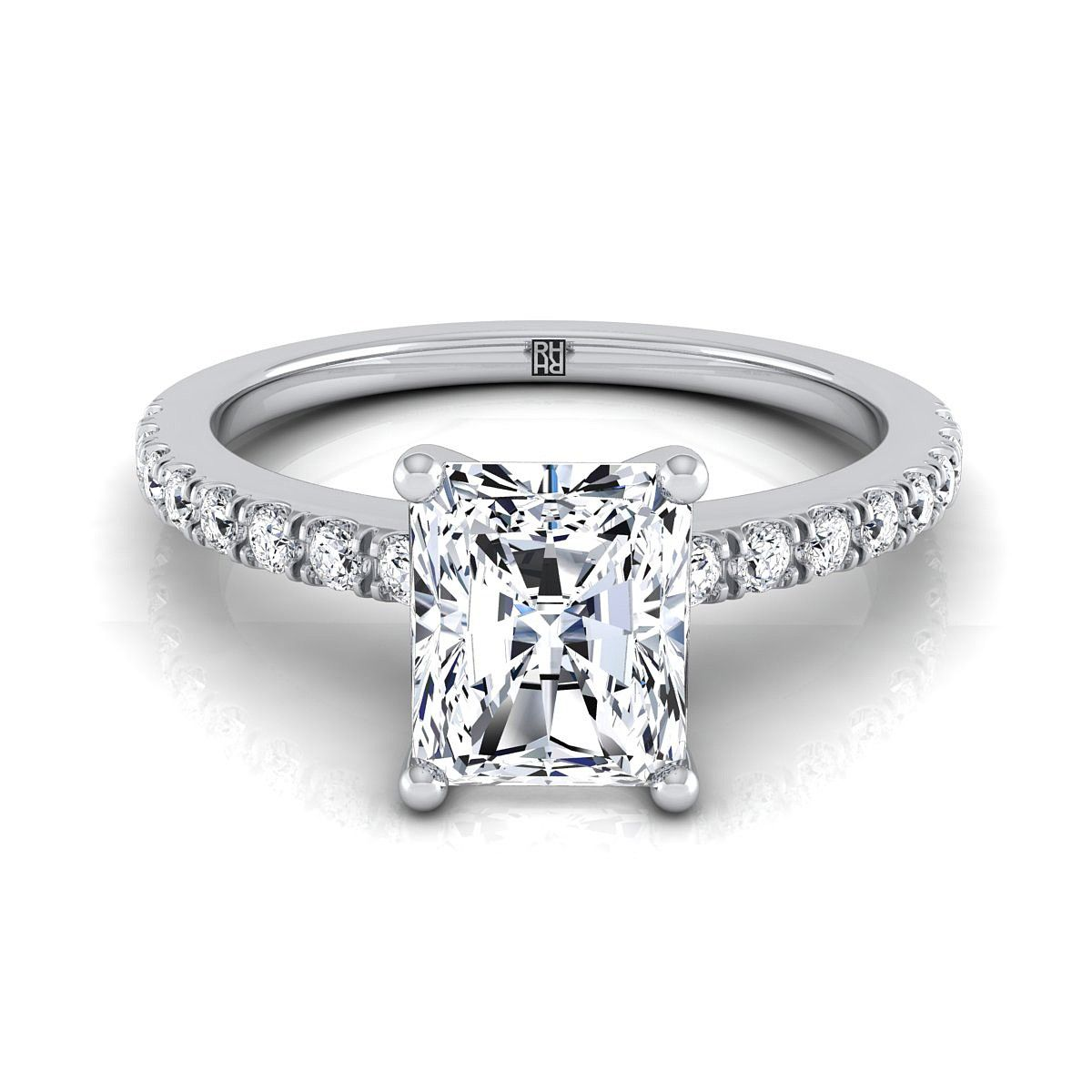 Pin On Radiant Cut Engagement Rings