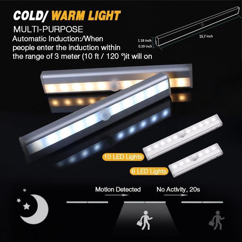Led Closet Light Buy 2 Free Shipping Led Closet Light Closet Lighting Motion Sensor Lights