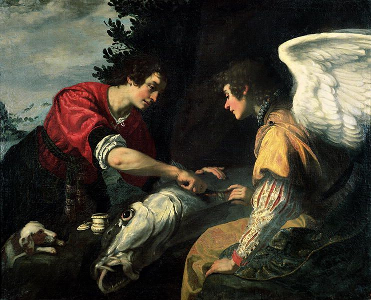 Image result for archangel raphael and tobias