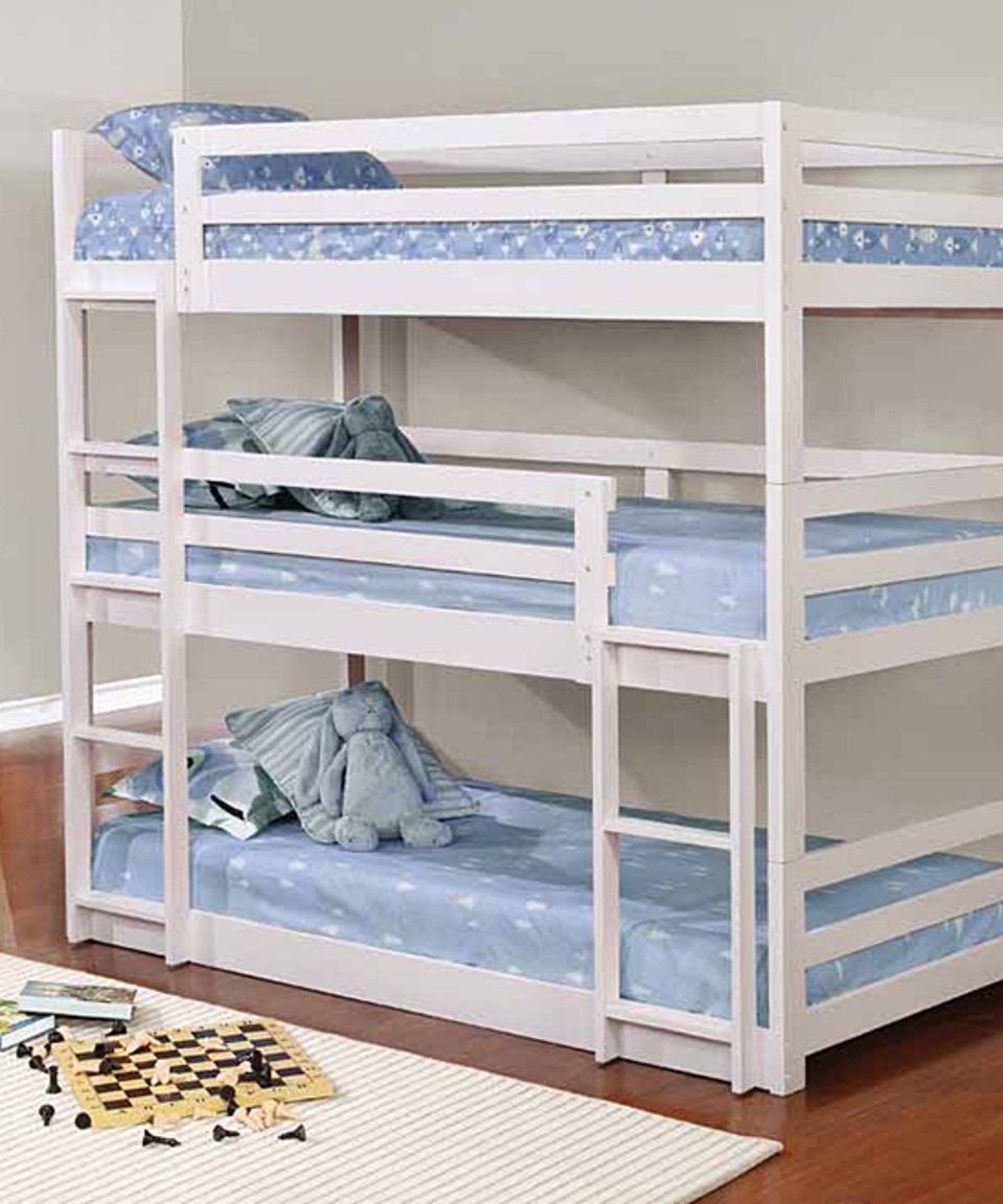 Take a look at this White TreeTier Bunk Bed today! Twin