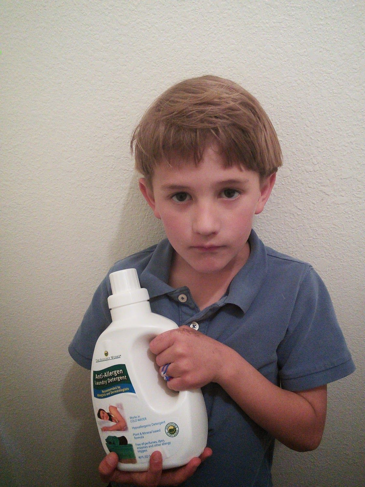 My Son Has Sensitive Skin And This Anti Allergen Laundry Detergent
