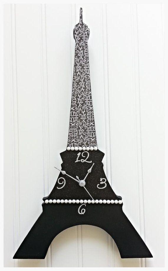 Paris Eiffel Tower Vinyl Wall Decal Paris Theme Bedroom Decor
