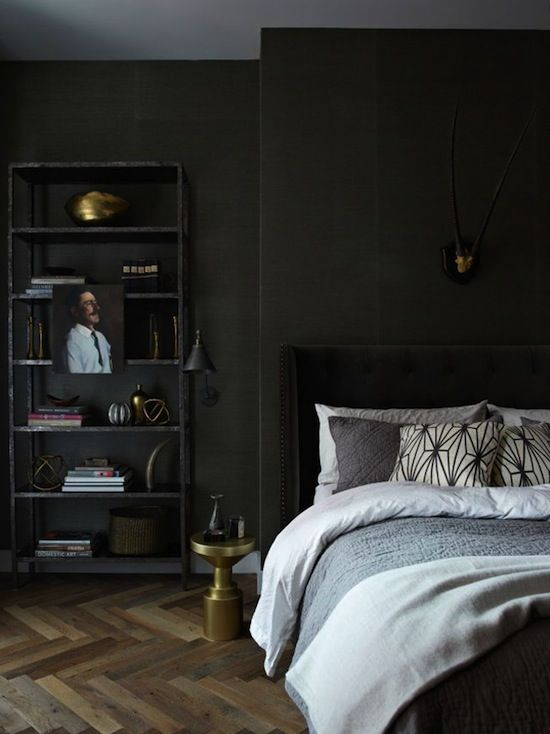 Etc Inspiration Blog Incredible Masculine Loft In New York City Via Jenny  Wolf Interiors Bed Photo