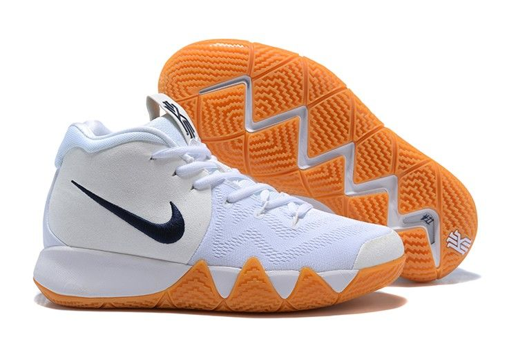 check out aca3b d2d71 2018 New Top Quality Nike Kyrie 4 White Gum Shoes For Sale