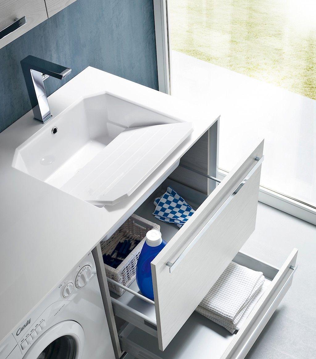 Come Pulire Il Mineralmarmo combap lavabo misty (con immagini)   arredamento lavanderia