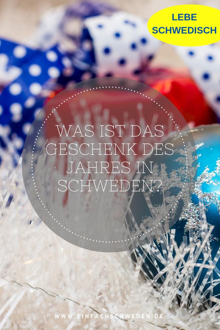 Weihnachtsgeschenke In Schweden.Weihnachtsgeschenk Des Jahres årets Julklapp Schweden Schweden