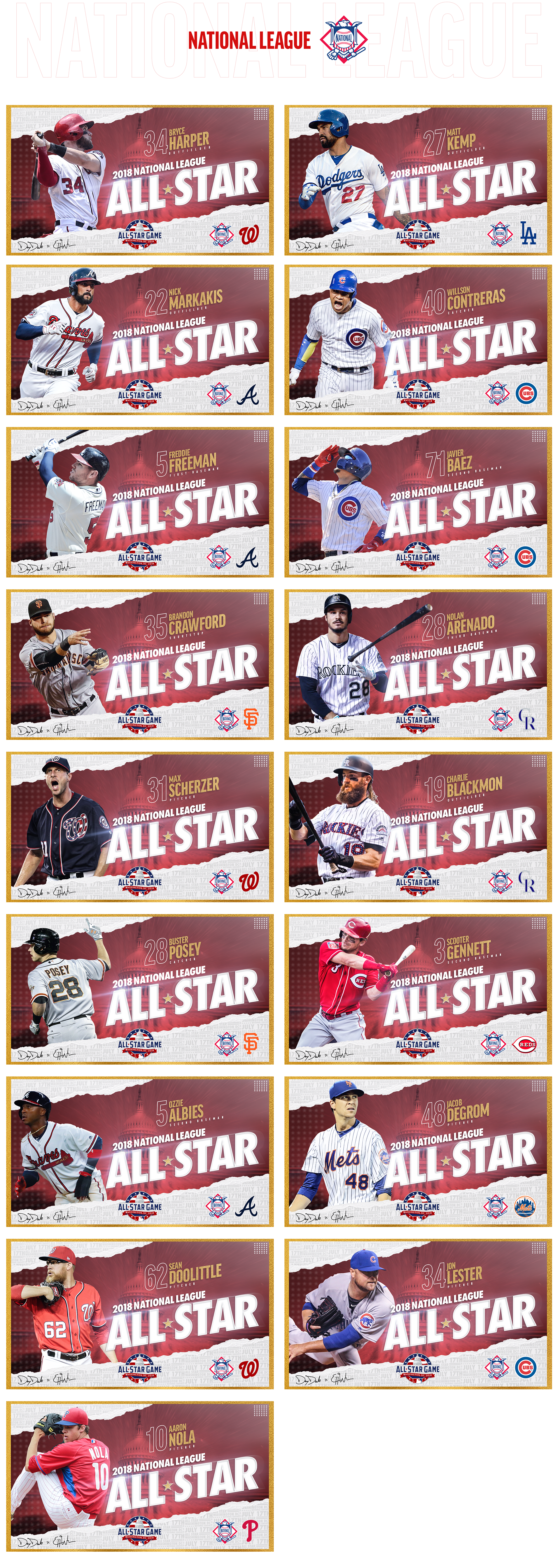 2018 Mlb All Star Game On Behance In 2020 With Images Sports Graphic Design Sports Design Inspiration Mlb