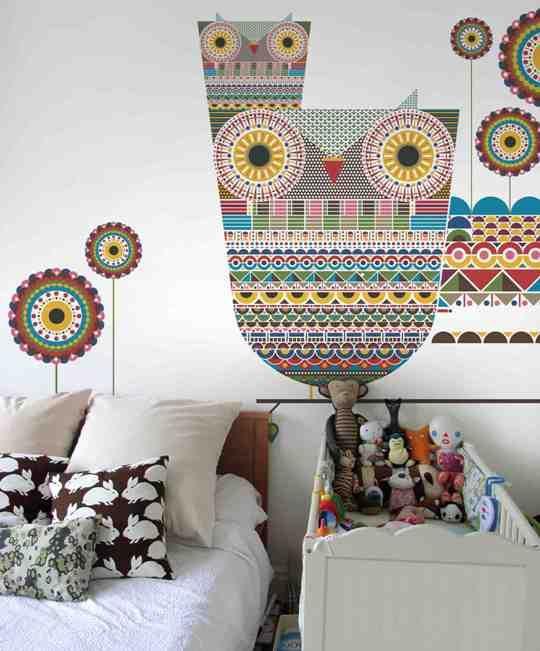 Moderno papel tapiz de pared - DecoraHOY diy inspira Pinterest - tapices modernos