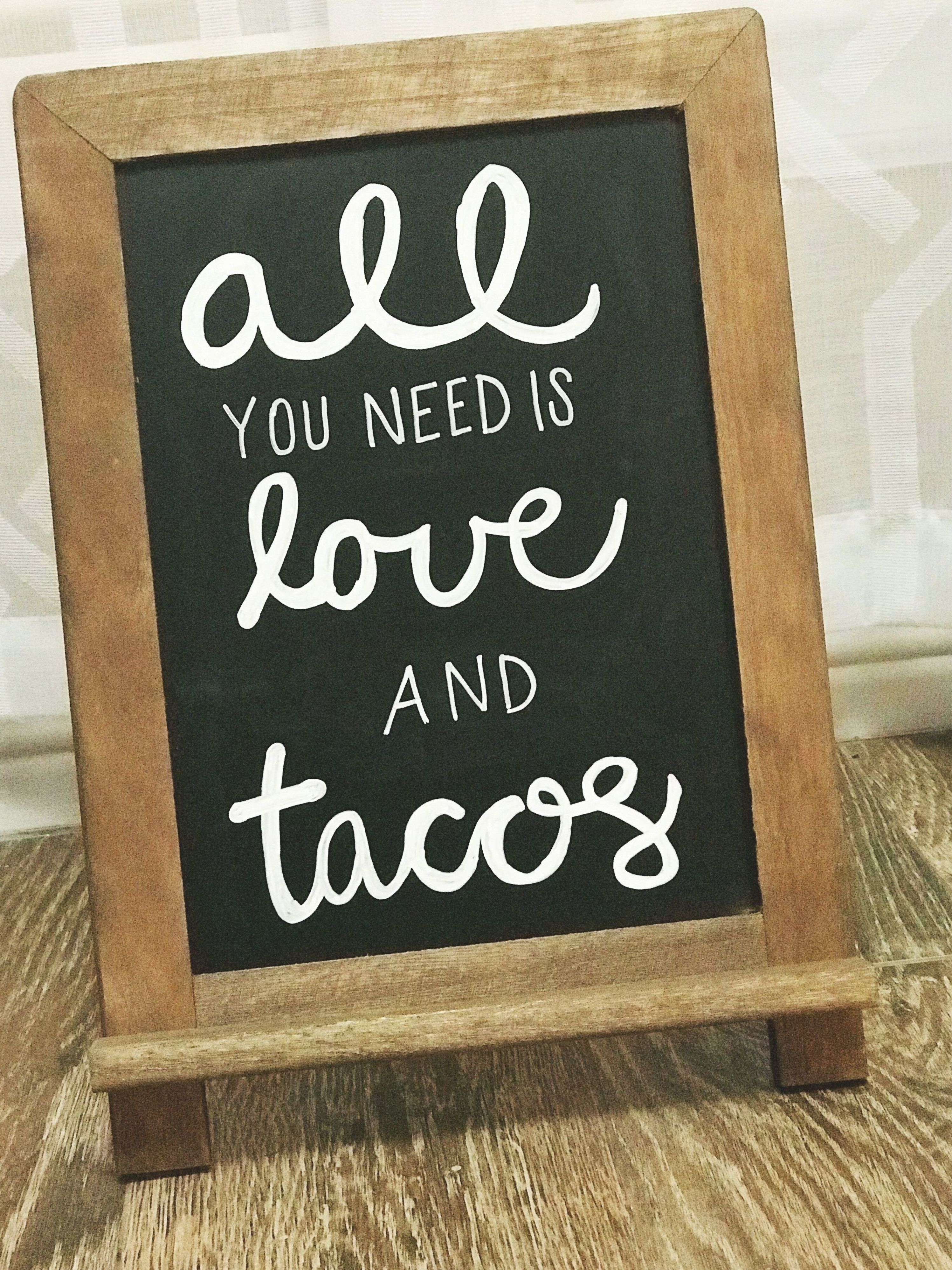 All You Need Is Love Tacos Chalkboard Bridal Shower Fiesta Engagement Party F Mexican Fiesta Bridal Shower Fiesta Theme Bridal Shower Wedding Shower Themes