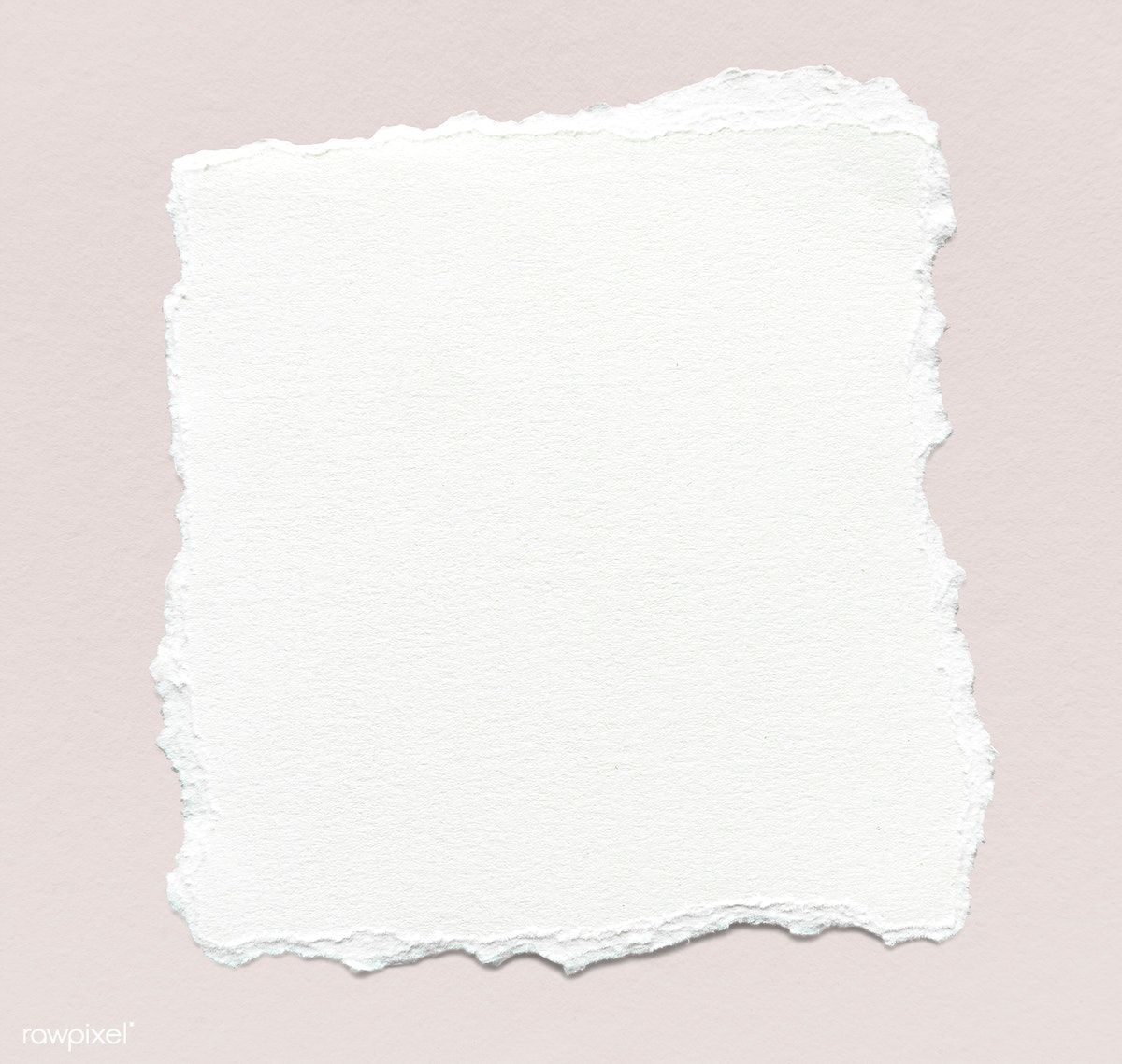 Download Premium Psd Of Blank Torn White Paper Template 1201902 Paper Texture White Torn Paper Paper Background Texture