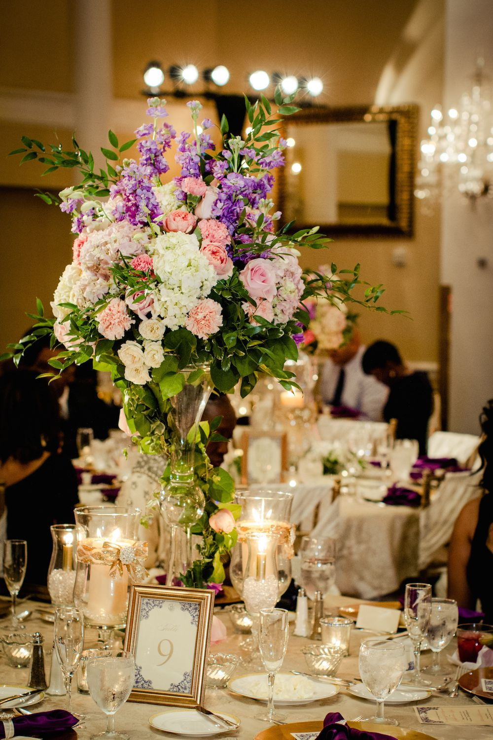 Colorful Wedding Centerpieces Best Home Interior