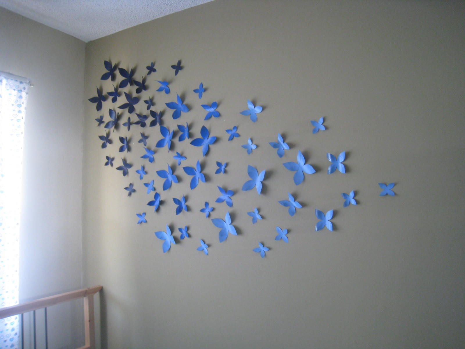 Cut up paper wall art ideas crafting is sanity hartwick dorm