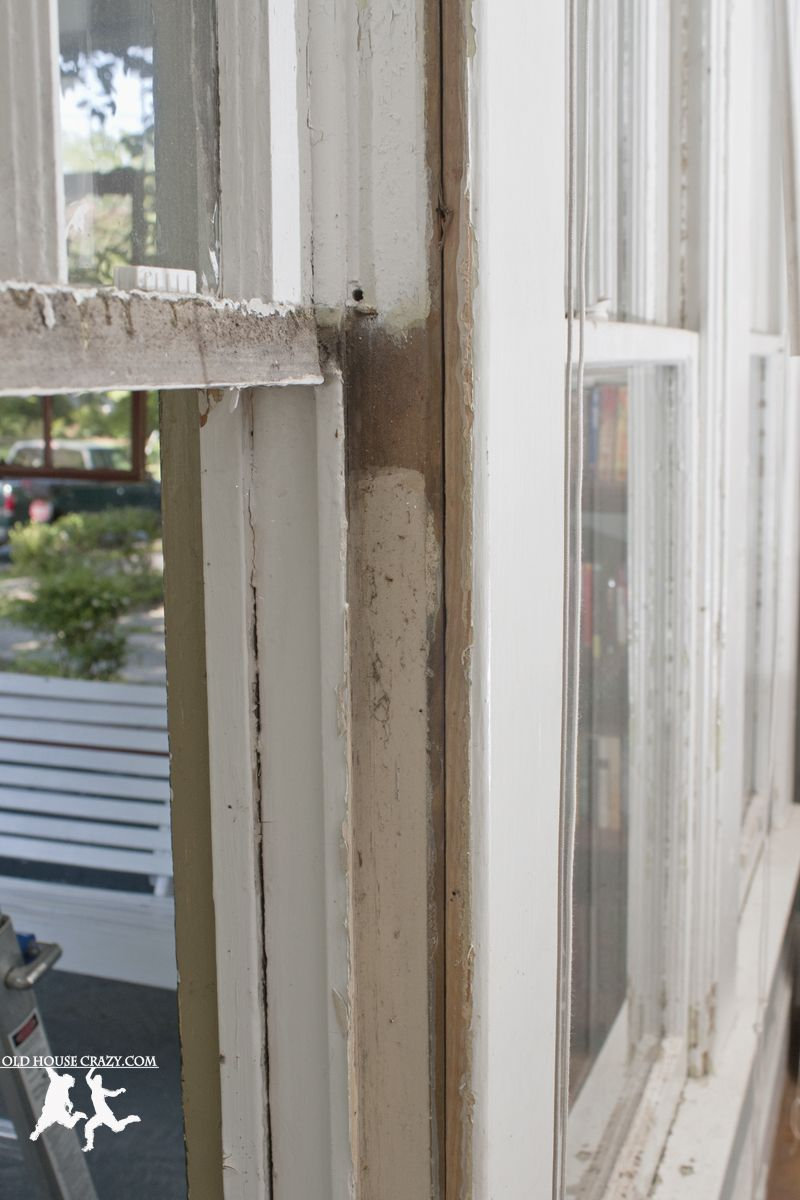 Old House Crazy - How to Restore Pulley Windows - DIY - 04